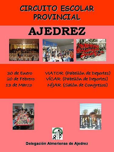 Circuito Escolar de Ajedrez 2010 por Album de fotos de deportes de Abla - Almeria.