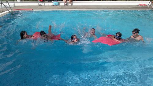 juegos de piscina de carreras