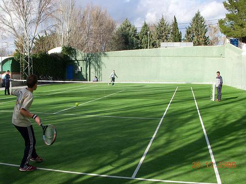 final OPEN INFANTIL DE TENIS por Album de fotos de deportes de Abla - Almeria.