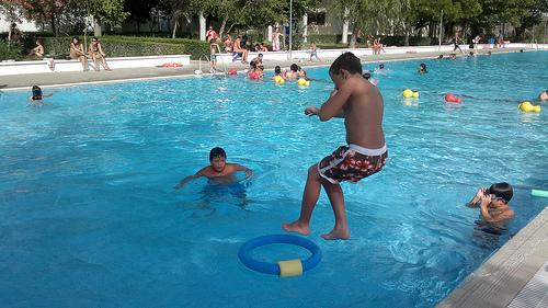 Jornada De Puertas Abiertas Y Juegos Acuaticos En La Piscina Blog