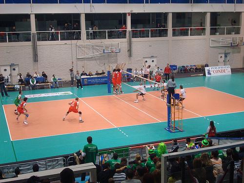 VOLEIBOL;UNICAJA ALMERIA por Album de fotos de deportes de Abla - Almeria.